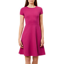 Buy Hobbs Matilda Dress, Dark Pink Online at johnlewis.com