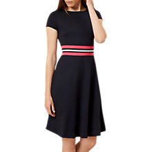 Buy Hobbs Seasalter Dress, Navy/Multi Online at johnlewis.com