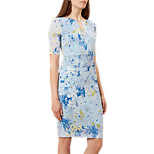 Buy Hobbs Stefania Dress, Pale Blue Online at johnlewis.com