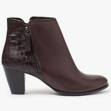 Buy John Lewis Petra Block Heeled Ankle Boots Online at johnlewis.com