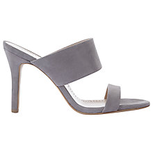 Buy Mint Velvet Lillia Stiletto Mule Sandals, Grey Online at johnlewis.com