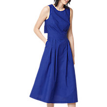 Buy Warehouse Open Back Cotton Dress Online at johnlewis.com