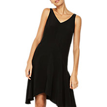 Buy Mint Velvet Bow Back Trapeze Dress, Black Online at johnlewis.com