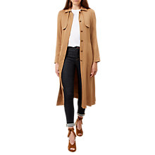 Buy Hobbs Madison Trench Coat, Tan Online at johnlewis.com