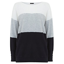 Buy Mint Velvet Stripe Batwing Jumper, Multi Online at johnlewis.com