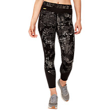 Buy Lolë Burst Motion Decorated Yoga Leggings, Black Online at johnlewis.com