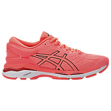 Buy Asics GEL-KAYANO 24 Women's Running Shoes, Coral Online at johnlewis.com