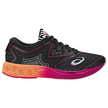 Buy Asics GEL-NOOSA Women's Running Shoes, Black/Orange Online at johnlewis.com