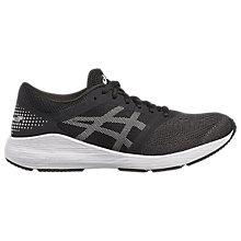 Buy Asics RoadHawk FF Women's Running Shoes, Black/Silver Online at johnlewis.com