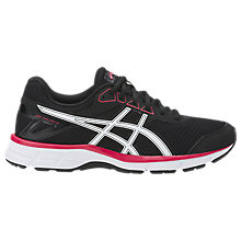 Buy Asics GEL-GALAXY 9 Women's Running Shoes, Black/Red Online at johnlewis.com