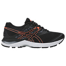 Buy Asics GEL-PULSE 9 Women's Running Shoes, Black/Orange Online at johnlewis.com