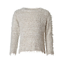 Buy John Lewis Girls' Eyelash Knit Jumper Online at johnlewis.com