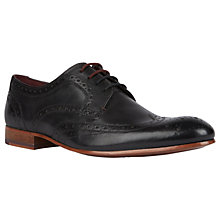 Buy Ted Baker Gryene Brogues, Black Online at johnlewis.com