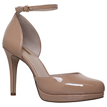Buy Carvela Anita Two Part Court Shoes, Nude Online at johnlewis.com