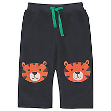 Buy Frugi Organic Baby Corduroy Tiger Patch Trousers, Navy/Green Online at johnlewis.com