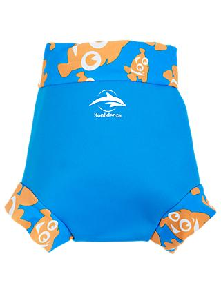 Konfidence Baby Clown Fish Neo Nappy Cover, Blue