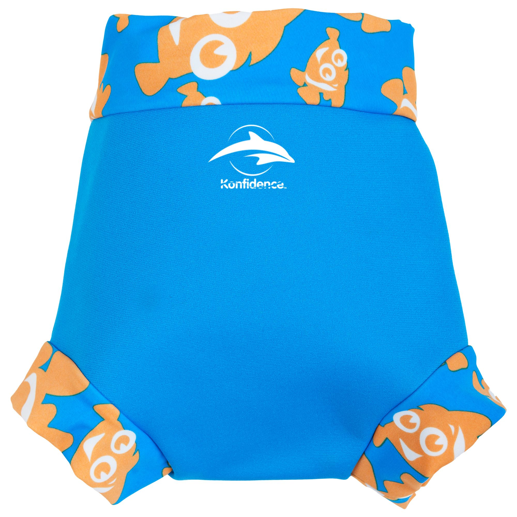 Konfidence Konfidence Baby Clown Fish Neo Nappy Cover, Blue