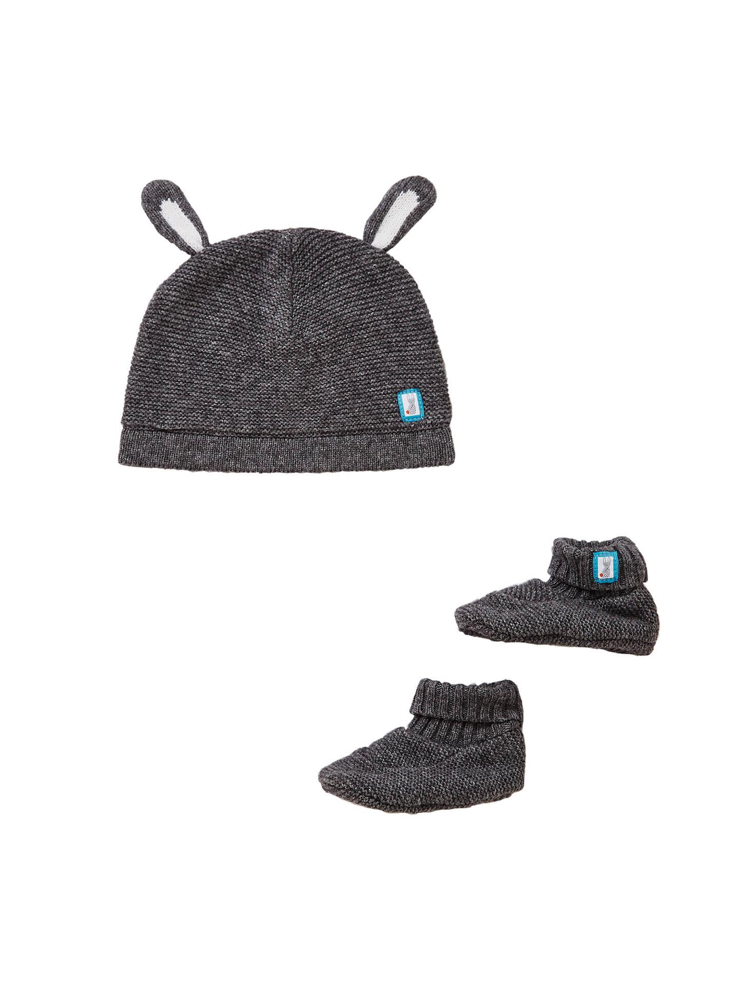 606625921 Buy John Lewis Baby Hat and Booties Set