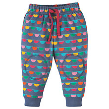 Buy Frugi Organic Baby Snuggle Crawlers Trousers, Blue/Multi Online at johnlewis.com