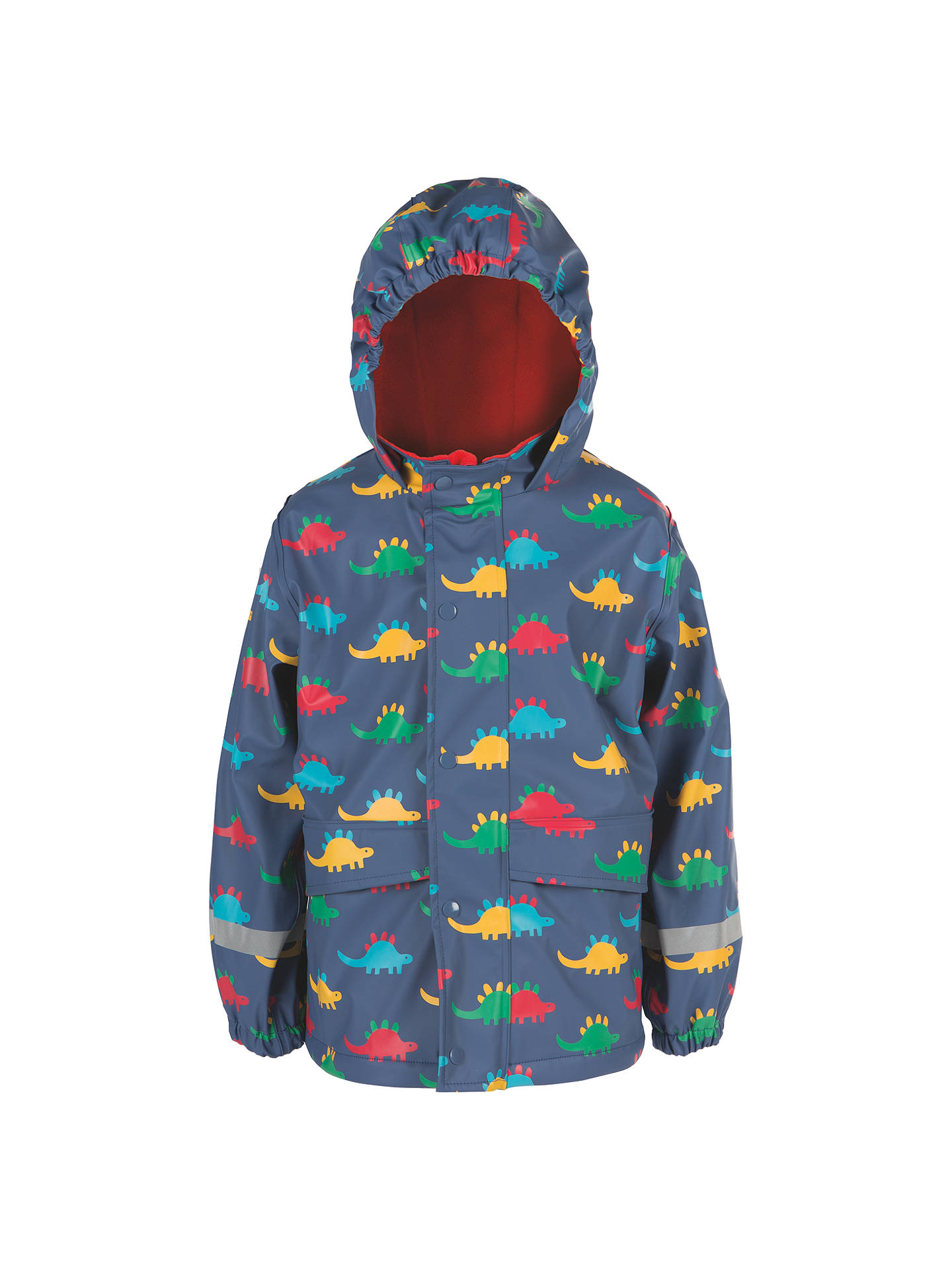 9f541c93e8a0 Frugi Organic Children s Puddle Buster Dinosaur Coat