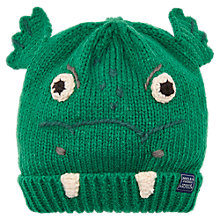 Buy Little Joule Children's Chummy Dragon Character Beanie Hat, Multi Online at johnlewis.com