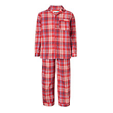 Buy John Lewis Children's Traditional Check Pyjamas Online at johnlewis.com