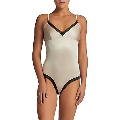 Elle Macpherson Body Slink Bodysuit, Fawn/Jet Black