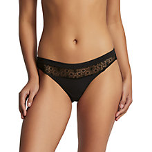 Buy Elle Macpherson Body Edge Bikini Briefs, Jet Black Online at johnlewis.com