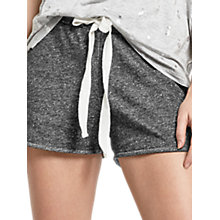 Buy Oasis Sport Pineapple Loopback Shorts, Mid Grey Online at johnlewis.com