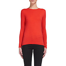 Buy Whistles Annie Sparkle Knit Jumper, Coral Online at johnlewis.com