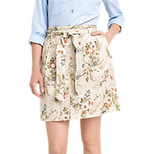 Buy Oasis Spring Flower Casual Skirt, Multi Online at johnlewis.com