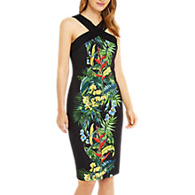 Buy Oasis Tropical Cuba Pencil Dress, Multi Online at johnlewis.com