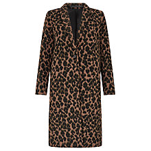 Buy Samsoe & Samsoe Rosalind Jacket, Leopard Online at johnlewis.com