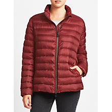 Buy Gerry Weber Quilted Jacket, Barolo Online at johnlewis.com
