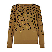 Buy Maison Scotch Animal Devore Sweatshirt Online at johnlewis.com
