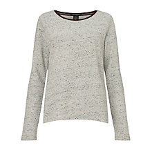 Buy Maison Scotch Melange Jumper, Grey Online at johnlewis.com