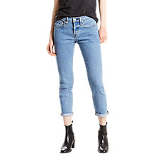 Buy Levi's 501 Mid Rise Tapered Jeans, Amerika Blue Online at johnlewis.com