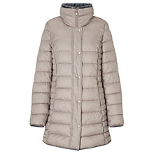 Buy Gerry Weber Quilted Coat, Stone Online at johnlewis.com