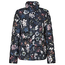 Buy Gerry Weber Quilted Flower Print Jacket, Multi Online at johnlewis.com