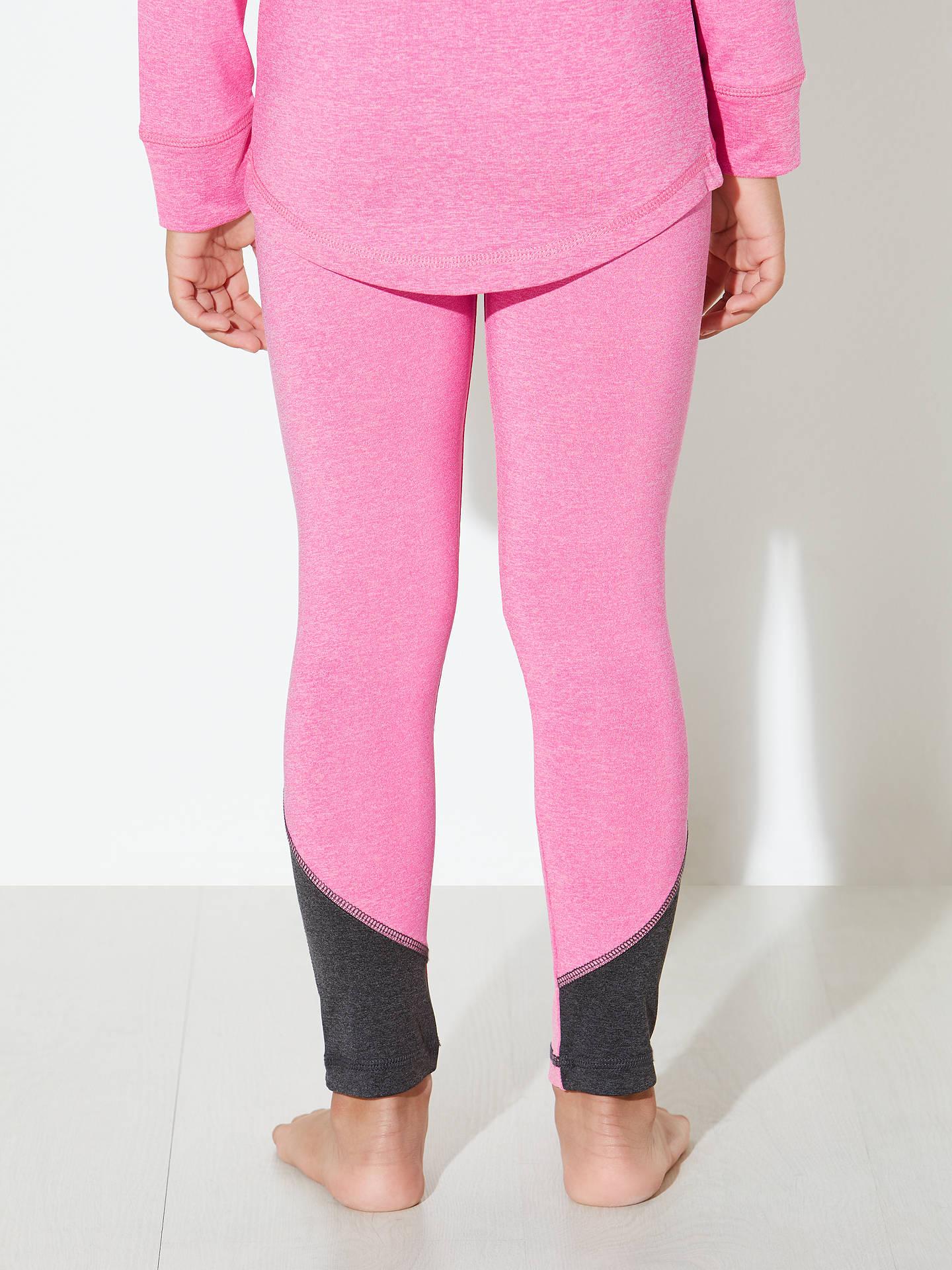 5d44d1104f8 Buy John Lewis Girls' Sports Leggings, Pink, 2 years Online at johnlewis.