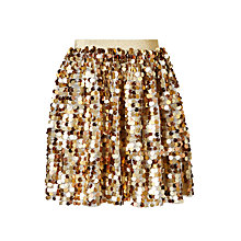 Buy John Lewis Girls' Metallic Skirt Online at johnlewis.com