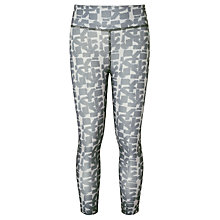 Buy John Lewis Girls' Geo Sports Leggings, Grey Online at johnlewis.com