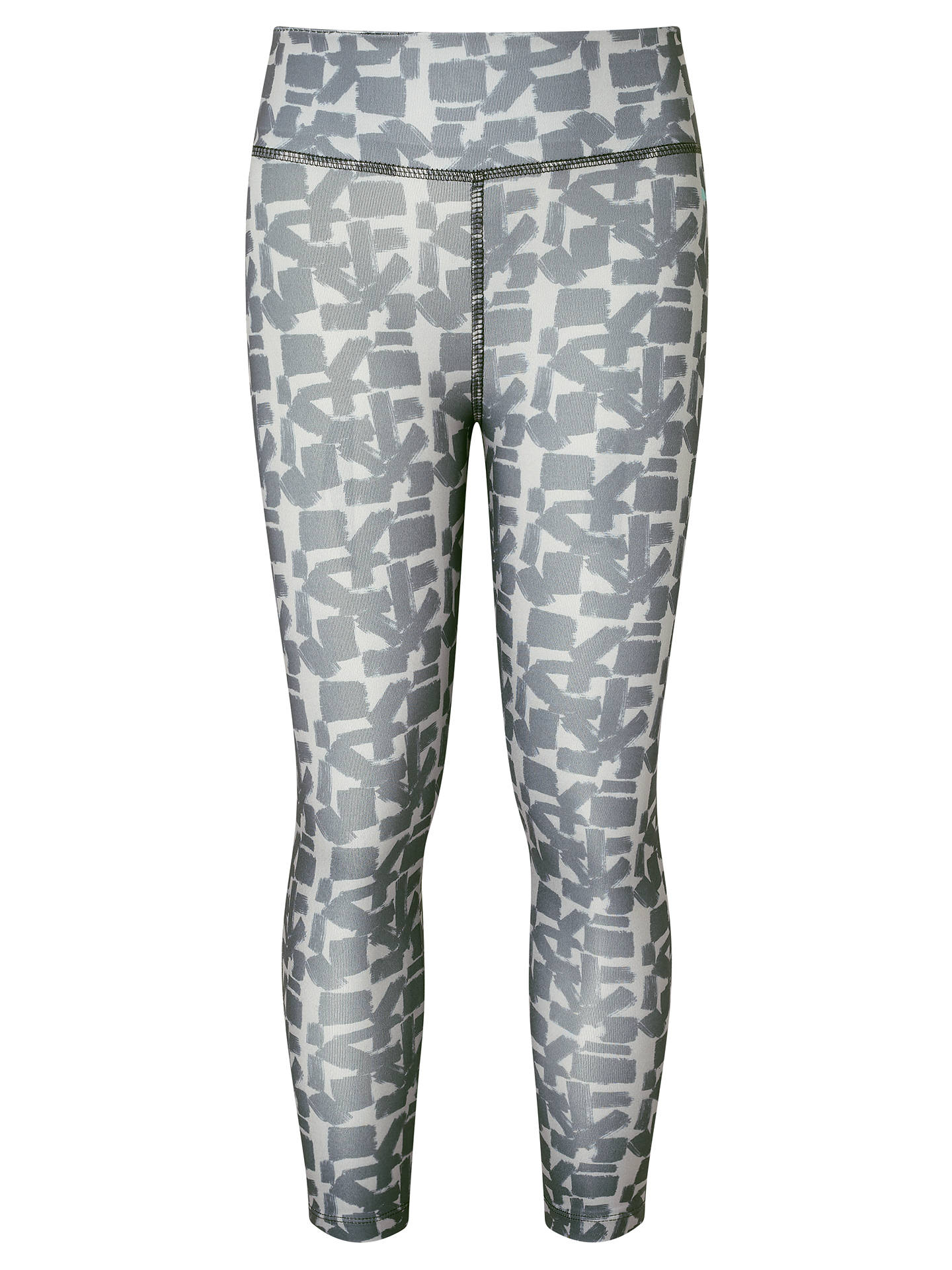 a39a5eb5248 Buy John Lewis Girls' Geo Sports Leggings, Grey, 2 yrs Online at johnlewis  ...