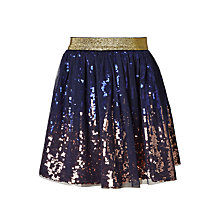 Buy John Lewis Girls' Ombre Sequin Skirt Online at johnlewis.com