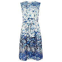 Buy Phase Eight Gaila Floral Dress, Ivory/Blue Online at johnlewis.com
