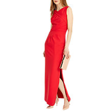 Buy Phase Eight Georgie Full Length Dress, Carmine Online at johnlewis.com