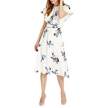 Buy Phase Eight Gwyneth Dress, White Online at johnlewis.com