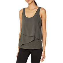 Buy Mint Velvet Asymmetric Double Layer Vest Top Online at johnlewis.com