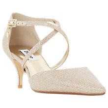 Buy Dune Courtnee Cross Strap Court Shoes Online at johnlewis.com