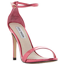 Buy Steve Madden Stecy Stiletto Sandals, Fuchsia Online at johnlewis.com